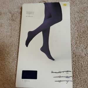 A new day opaque tights size S/M